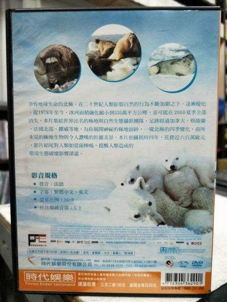 挖寶二手片-Y31-015-正版DVD-電影【白色大地】-忠實記錄且呈現北極四季的風貌
