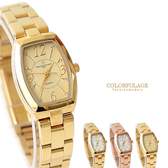Valentino范倫鐵諾 經典小酒桶玫瑰金腕錶手錶 奧地利水鑽【NE1356】原廠公司貨