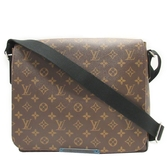 LOUIS VUITTON LV 路易威登 原花翻蓋磁釦斜背包 District PM M40934  【BRAND OFF】
