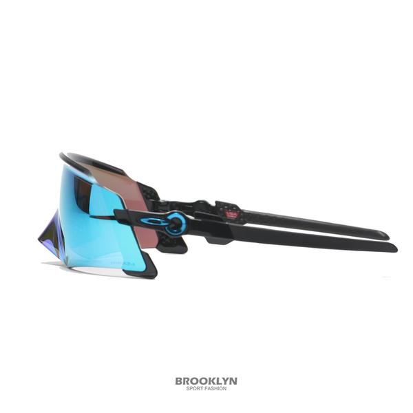 OAKLEY 太陽眼鏡 FA21 KATO POLISHED BLACK W/PRIZM SAPPHIRE 極致輕 (布魯克林) OAKOO94550349