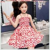 女童雪紡連身裙 夏2020新款夏裝洋氣兒童網紅公主裙小女孩蛋糕裙子洋裝 JX2686 『優童屋』