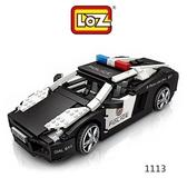 摩比小兔~LOZ mini 鑽石積木-1113 警車 腦力激盪 益智玩具 鑽石積木 積木 親子