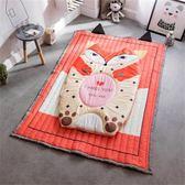 店長推薦全棉卡通小孩兒童地毯寶寶爬行墊地墊嬰兒爬爬墊臥室游戲墊可機洗