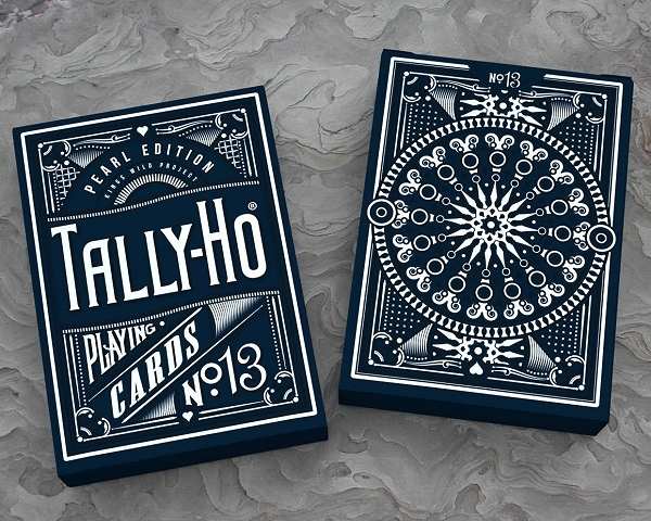 【USPCC 撲克】PEARL TALLY HO 藍盒 PLAYING CARDS