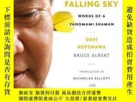 二手書博民逛書店The罕見Falling SkyY256260 Davi Kopenawa Harvard Universit