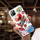 情侶SamSung S21手機套 日韓三星S21保護殼 可愛Galaxy S21+保護套 潮牌卡通芝麻街士三星S21 Ultra手機殼