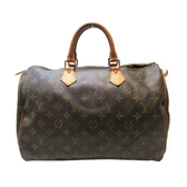 路易威登 LOUIS VUITTON LV 原花手提波士頓包 Speedy 35 M41524 【BRAND OFF】