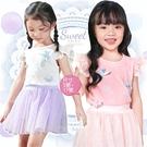 優雅浪漫縷空蓋袖上衣-2色(310021)【水娃娃時尚童裝】