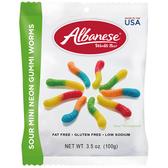美國 Albanese 艾爾巴 迷你酸爆小蟲造型軟糖(100g)【小三美日】進口 / 團購 / 零嘴
