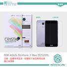 NILLKIN ASUS ZenFone 3 Max ZC520TL 超清防指紋保護貼 (含鏡頭貼) 螢幕膜 高清貼 ZF3M