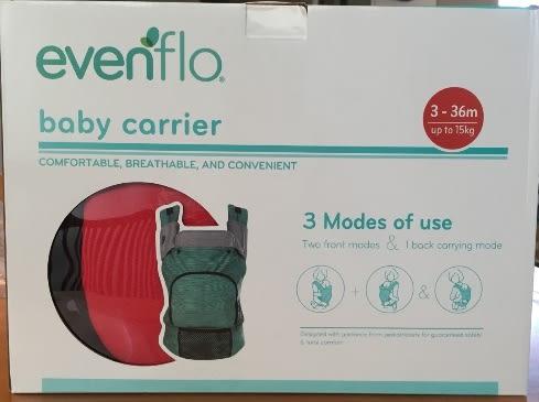 evenflo 嬰兒背巾/揹帶/揹巾 GBD16(紅色)[衛立兒生活館]