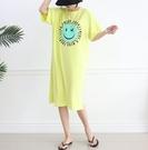 [預購+現貨]韓國-笑臉圓圈英長版(3色)-洋裝-74102000 -pipima-53