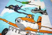 HO KANG 授權卡通品牌 雙人涼被~飛機總動員