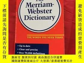 二手書博民逛書店The罕見Merriam-Webster Dictionary The Words You Need Today奇