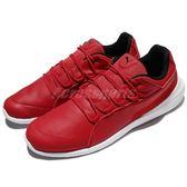 Puma 休閒鞋 SF Evo Cat 紅 白 法拉利 聯名款 皮革 男鞋 【PUMP306】 30600901