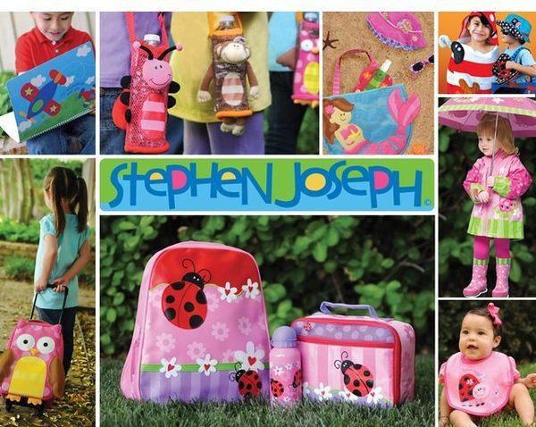 美國 Stephen Joseph 兒童造型水壺袋-海龜