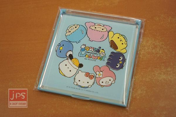 SANRIO 立鏡 大集合藍 Hello Kitty 雙子星 美樂蒂 布丁狗 WEI WEI