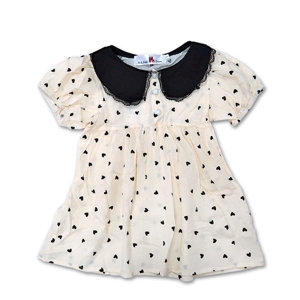 女童印花連身裙 短洋裝 長版上衣 [3726] RQ POLO 小童5-17碼 春夏 童裝 現貨