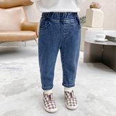 男童牛仔褲 童裝寶寶牛仔褲2020秋季韓版男童修身長褲子中小童百搭洋氣休閒褲