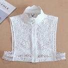 假領子針織外套領片襯衫洋裝 針織衫大學T外套內搭白色[E1608]滿額送愛康衛生棉預購.朵曼堤洋行