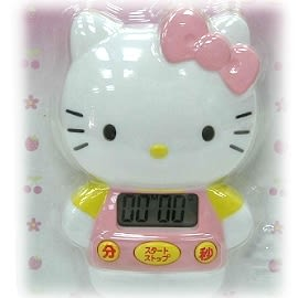 【波克貓哈日網】Hello kitty 凱蒂貓  ◇造型計時器◇《磁鐵式》