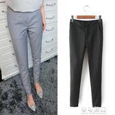 現貨出清原單女裝修身顯瘦舒適休閒長褲OL西裝褲窄管鉛筆褲子 可可鞋櫃1-3