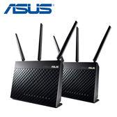 【ASUS 華碩】AiMesh AC1900 RT-AC68U 雙頻分享器 2入