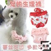 母狗內褲寵物發情褲防騷擾月經生理褲小型犬【左岸男裝】