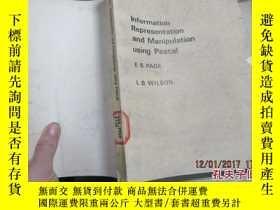 二手書博民逛書店information罕見representation and