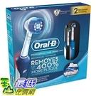 [美國直購] (促銷到10月30日)Oral-B Pro Care 2000 3D電動牙刷 (2入組含充電座旅行收納殼) Dual Handle