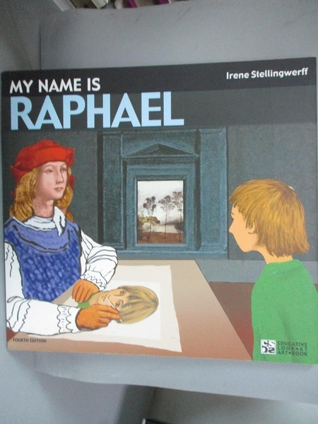 【書寶二手書T1/原文書_QEP】My name is Raphael_Irene Stellingwerff