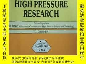 二手書博民逛書店recent罕見trends in high pressure
