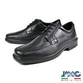 【IMAC】義大利小牛皮綁帶方頭真皮皮鞋  黑色(70101-BL)