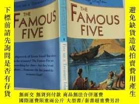 二手書博民逛書店the罕見famous five 著名的五個..~Y200392