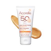 【預購】Acorelle 日光意境 全護植萃臉部防曬乳SPF50 #潤色 50ml【BG Shop】