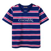 『小鱷魚童裝』條紋T恤(08號~18號)535401