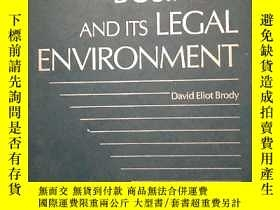二手書博民逛書店BUSINESS罕見AND ITS LEGAL ENVIRONM