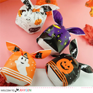 萬聖節派對兔耳朵糖果袋 餅乾袋 包裝袋 48-50入/包