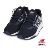 New Balance 新竹皇家 247 藍色 網布 套入式 休閒運動鞋 女款 NO.I9334