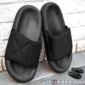 【OBIYUAN】拖鞋 加厚 軟底 復古 運動風 涼鞋 休閒鞋 共1色【TAC779】