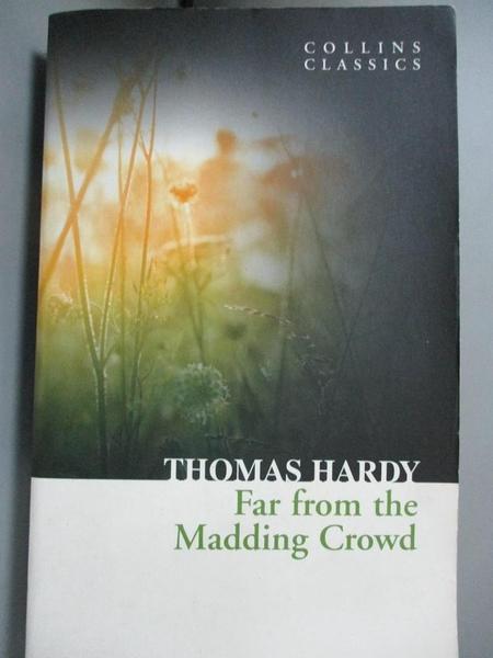 【書寶二手書T9/原文小說_OPA】Far From the Madding Crowd_Thomas Hardy