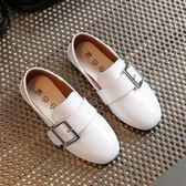 男童休閒單鞋豆豆皮鞋