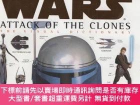 二手書博民逛書店The罕見Visual Dictionary Of Star Wars, Episode Ii - Attack
