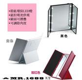 LED化妝鏡三面折疊鏡 台式發光鏡子 梳妝鏡 美容鏡子 化妝鏡【Mr.1688先生】
