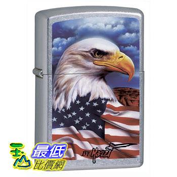 [104 美國直購] Zippo Claudio Mazzi Eagle Flag Lighter 打火機