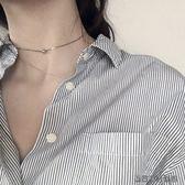 項練鎖骨練短款項圈女脖子飾品頸帶