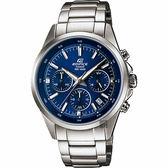 CASIO卡西歐 EDIFICE 經典賽車計時手錶-藍x銀 EFR-527D-2AVUDF / EFR-527D-2AV