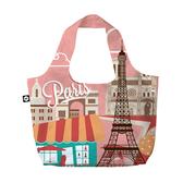 【BG Berlin】摺疊環保袋-巴黎 indulgence 寵愛自己