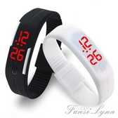 LED新款觸控電子夜光手錶男錶女錶手環時尚潮流情侶中小學生 范思蓮恩
