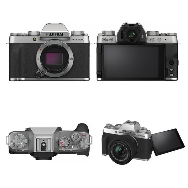 Fujifilm X-T200 Kit組 銀色〔含 XC 15-45mm〕平行輸入